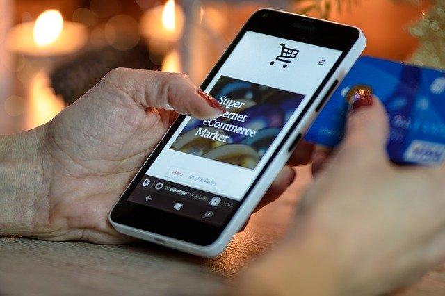 �зображение онлайн-торговля FMCG